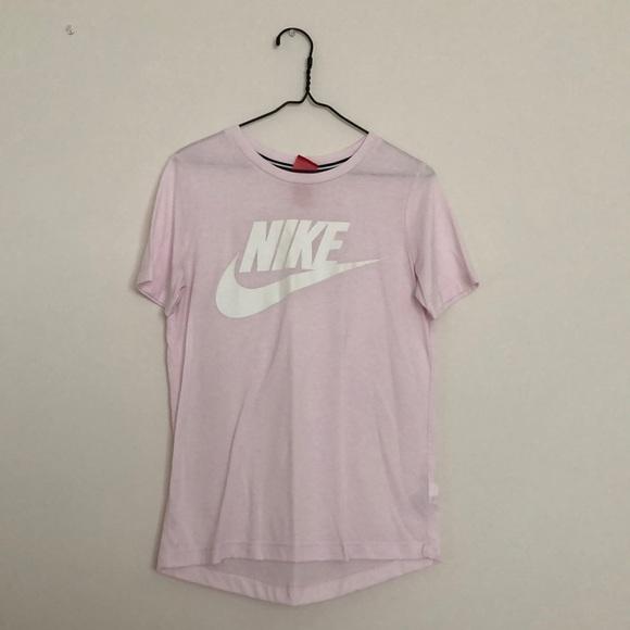 Nike Tops   Light Pink Nike Tee   Poshmark